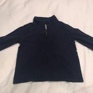 Boys Crew Cuts 1/4 zip cotton pullover size 8